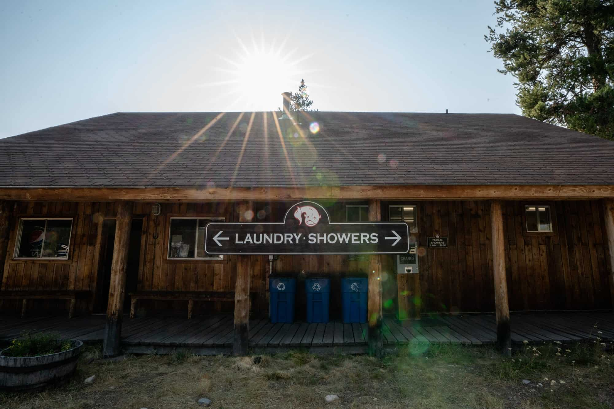 Where to shower when you live in a van