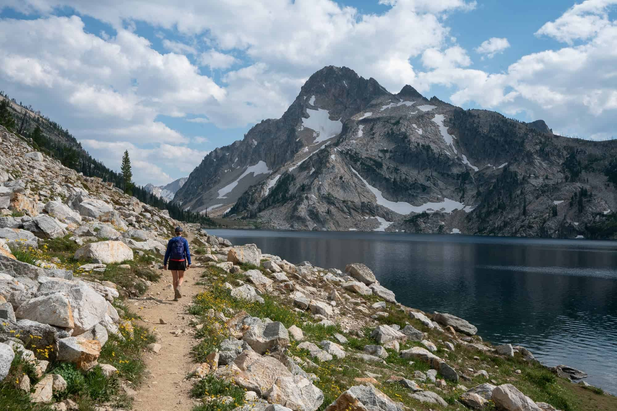 Sawtooth Lake in Stanley Idaho is one of the most beautiful dayhikes in the Sawtooth wilderness. Learn how to tackle the trail in this hiking guide.