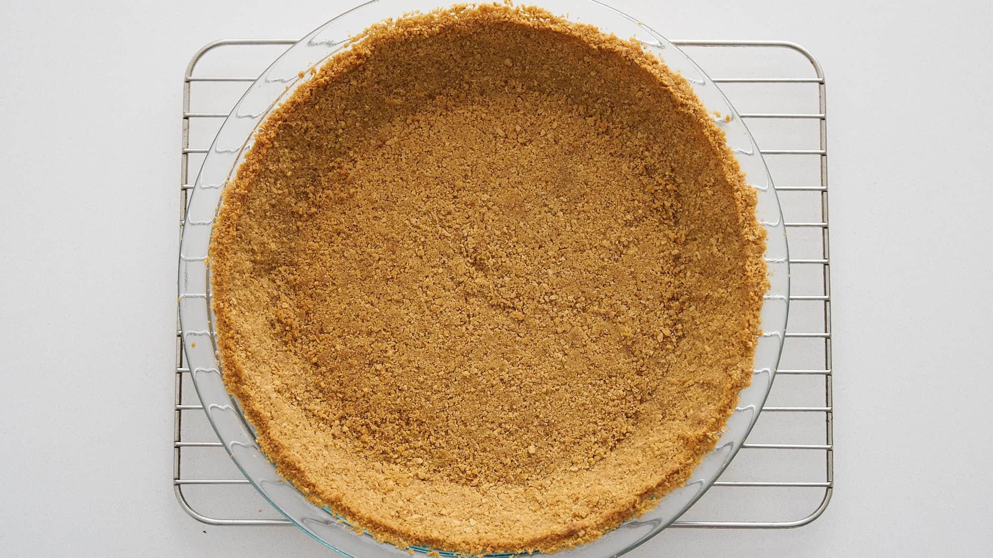 Graham cracker crust for key lime pie.