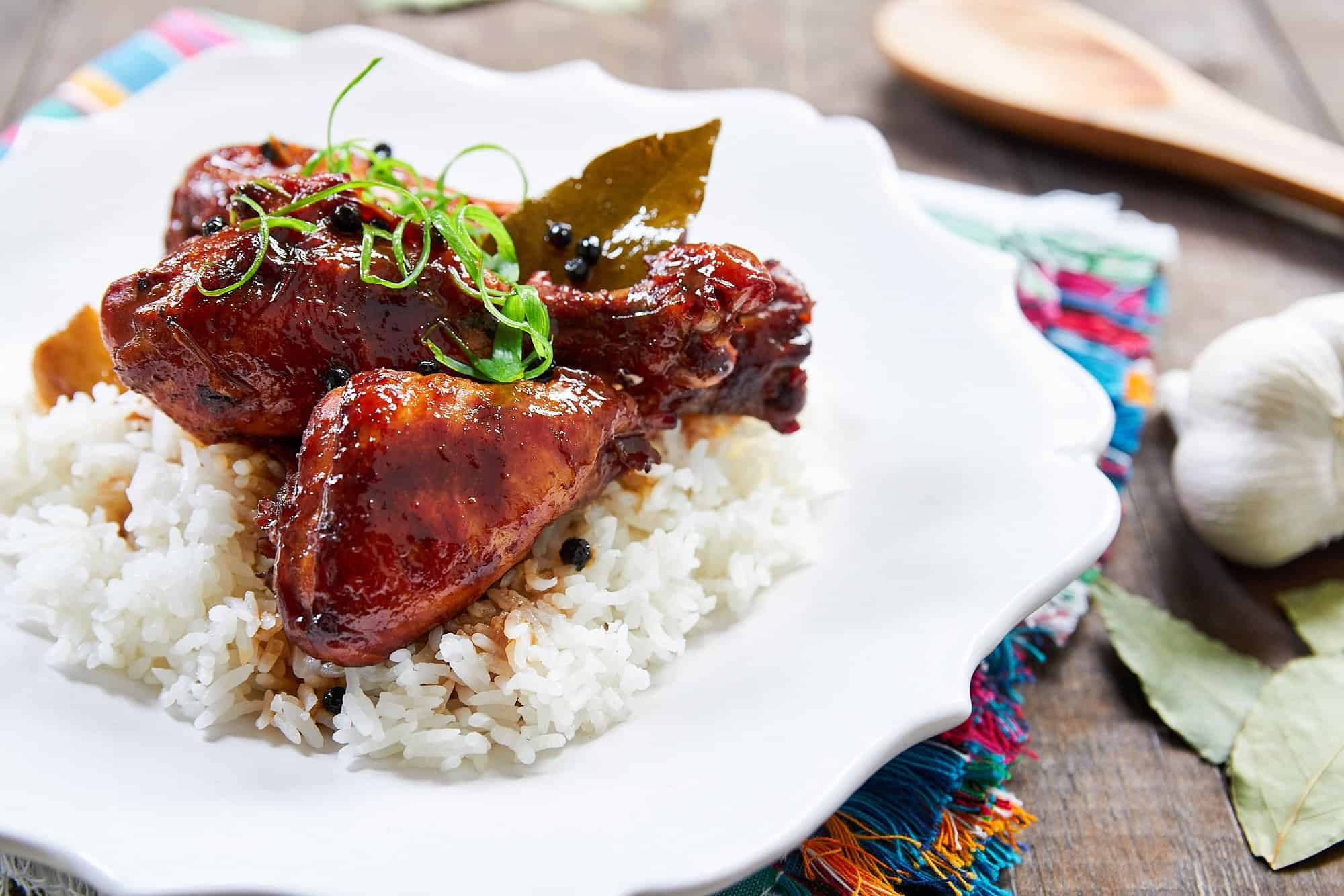 An unforgettably good Chicken Adobo that comes together from just a handful of ingredients.