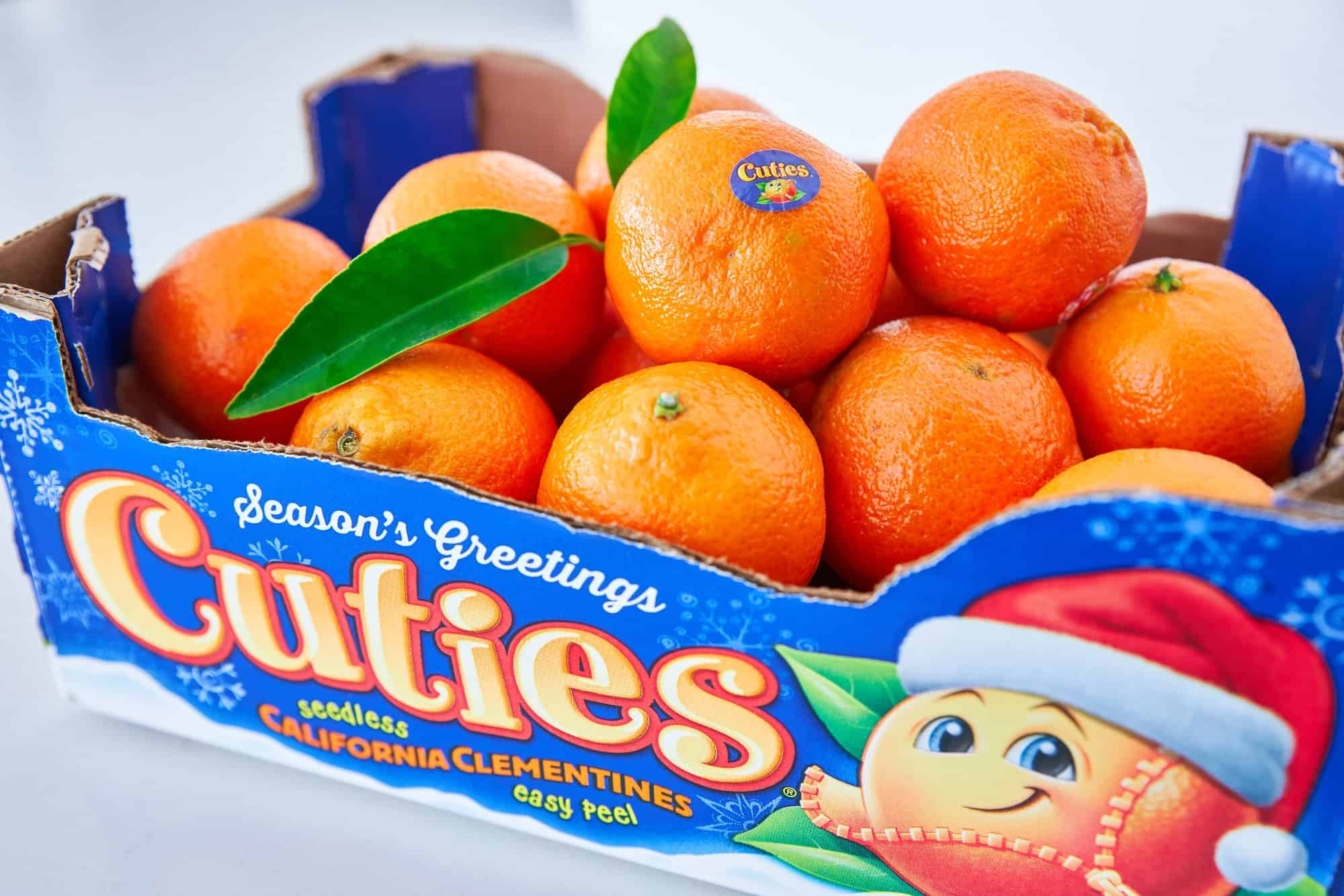A box of Cuties Clementines.