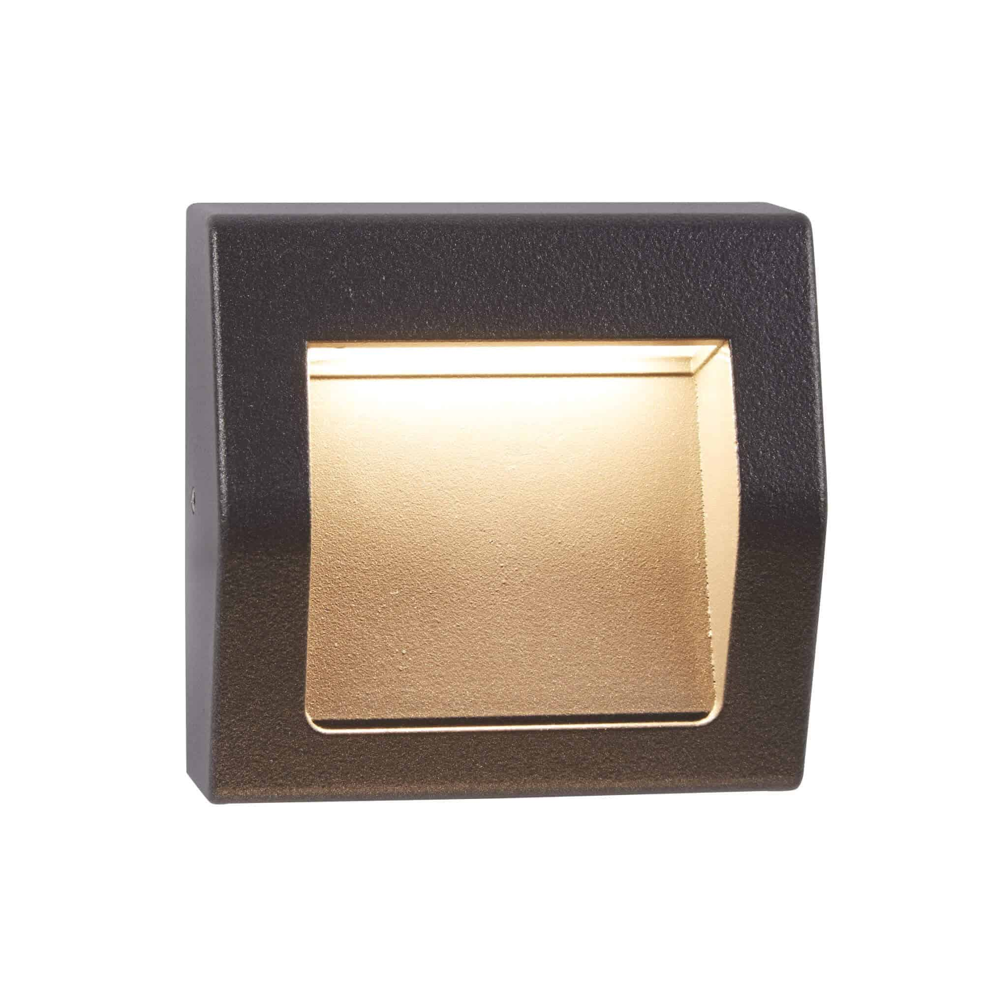 0221GY – Searchlight Ankle Dark Grey Outdoor LED Wall Light