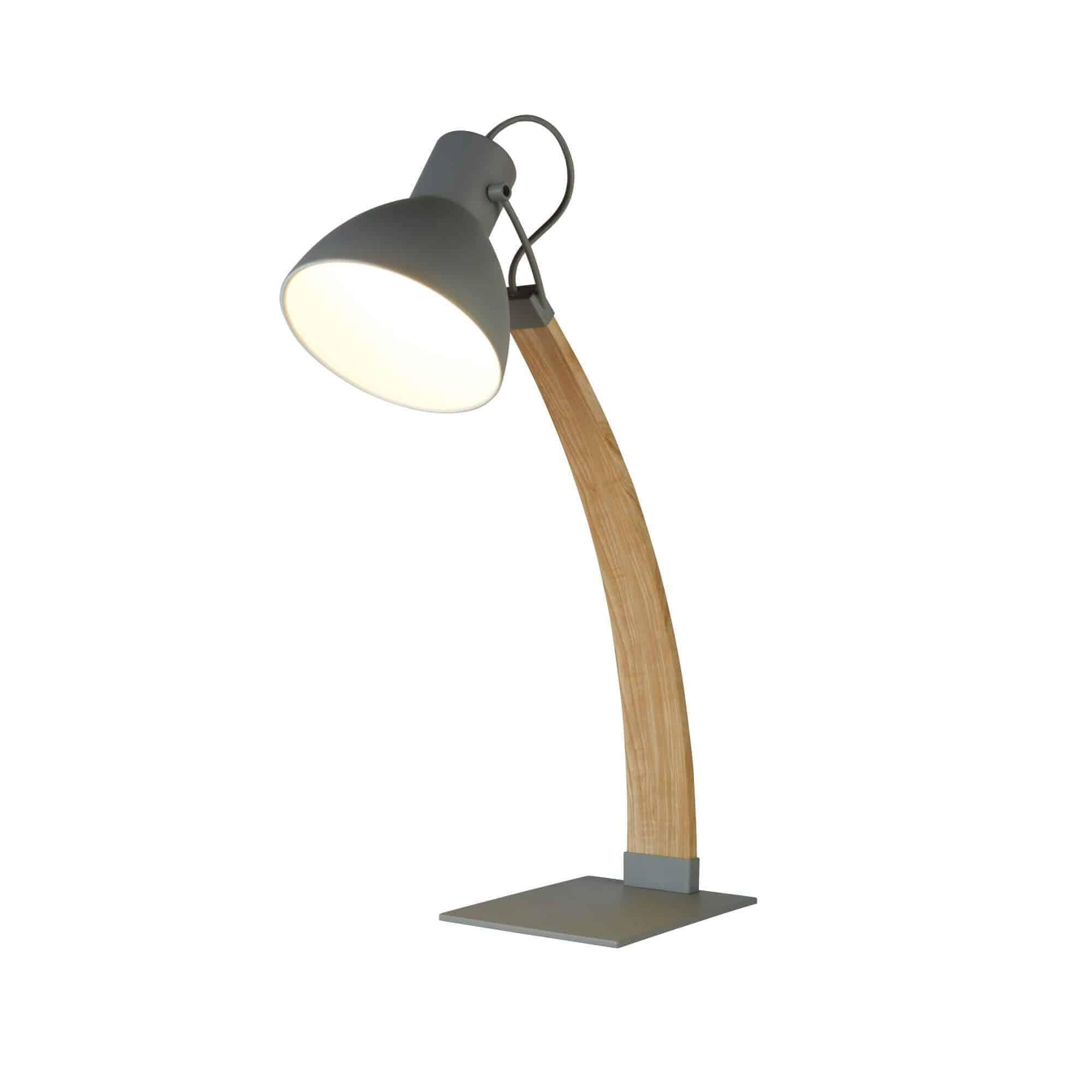 1039GY – Searchlight Nanna Matt Grey Table Lamp