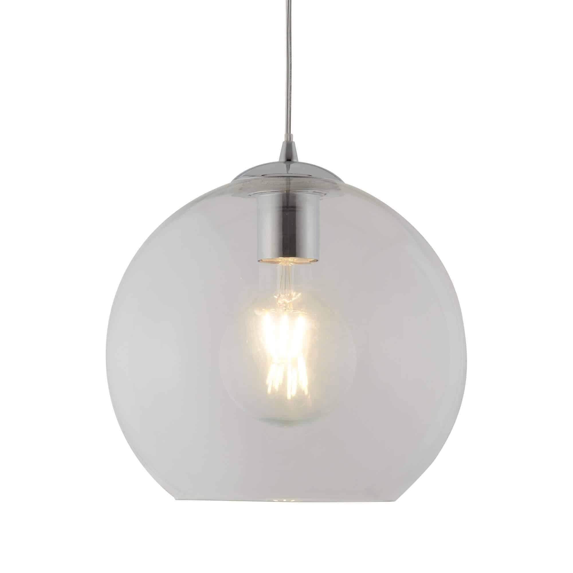 1621CL – Searchlight Balls Clear 1 Light Round Pendant (25cm Dia)