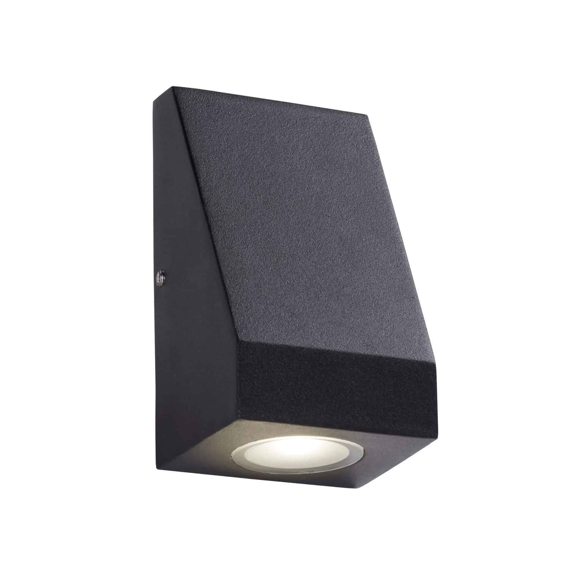 2041-1BK – Searchlight Outdoor Black LED Wall Light