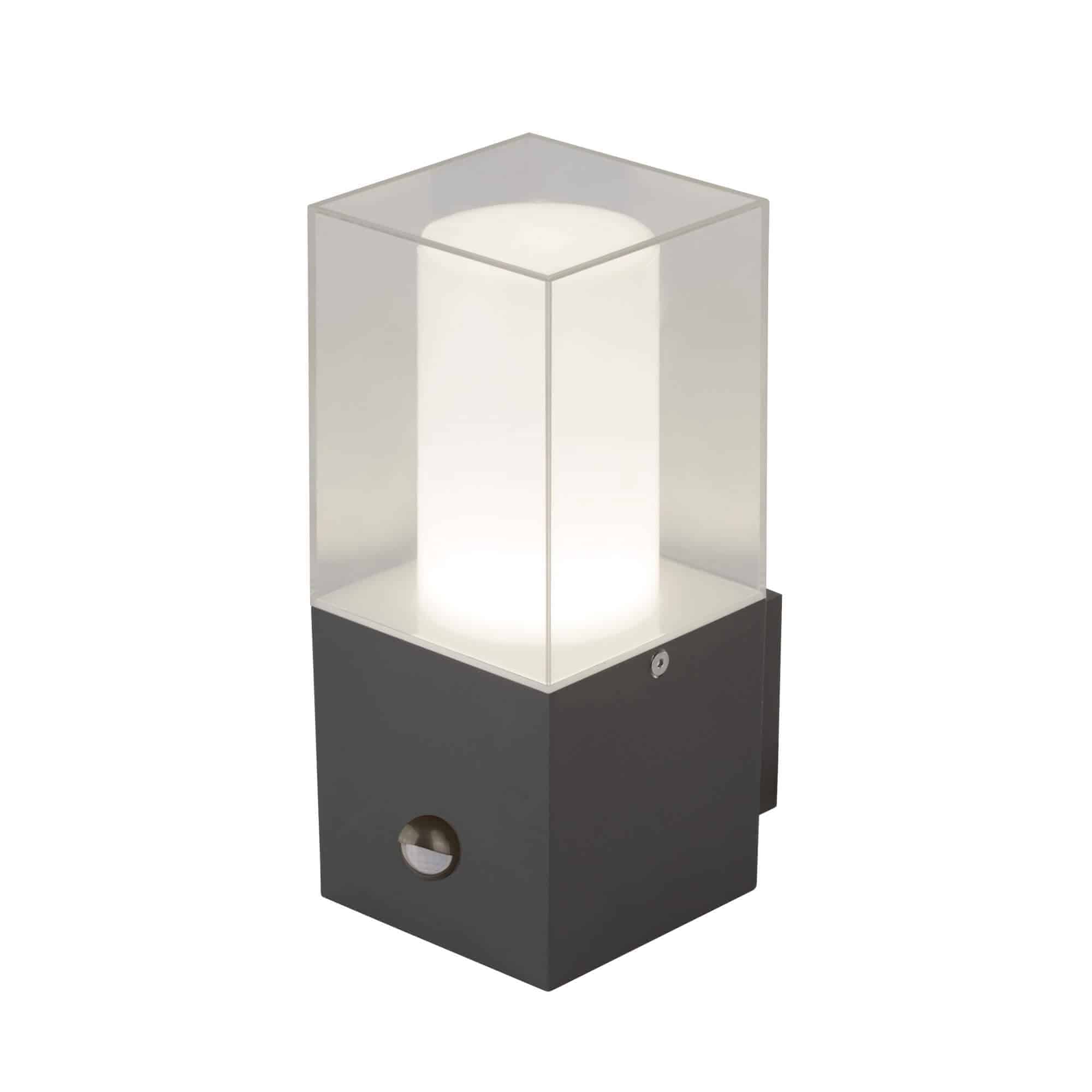 2581GY Searchlight OUTDOOR WALL LIGHT WITH SENSOR