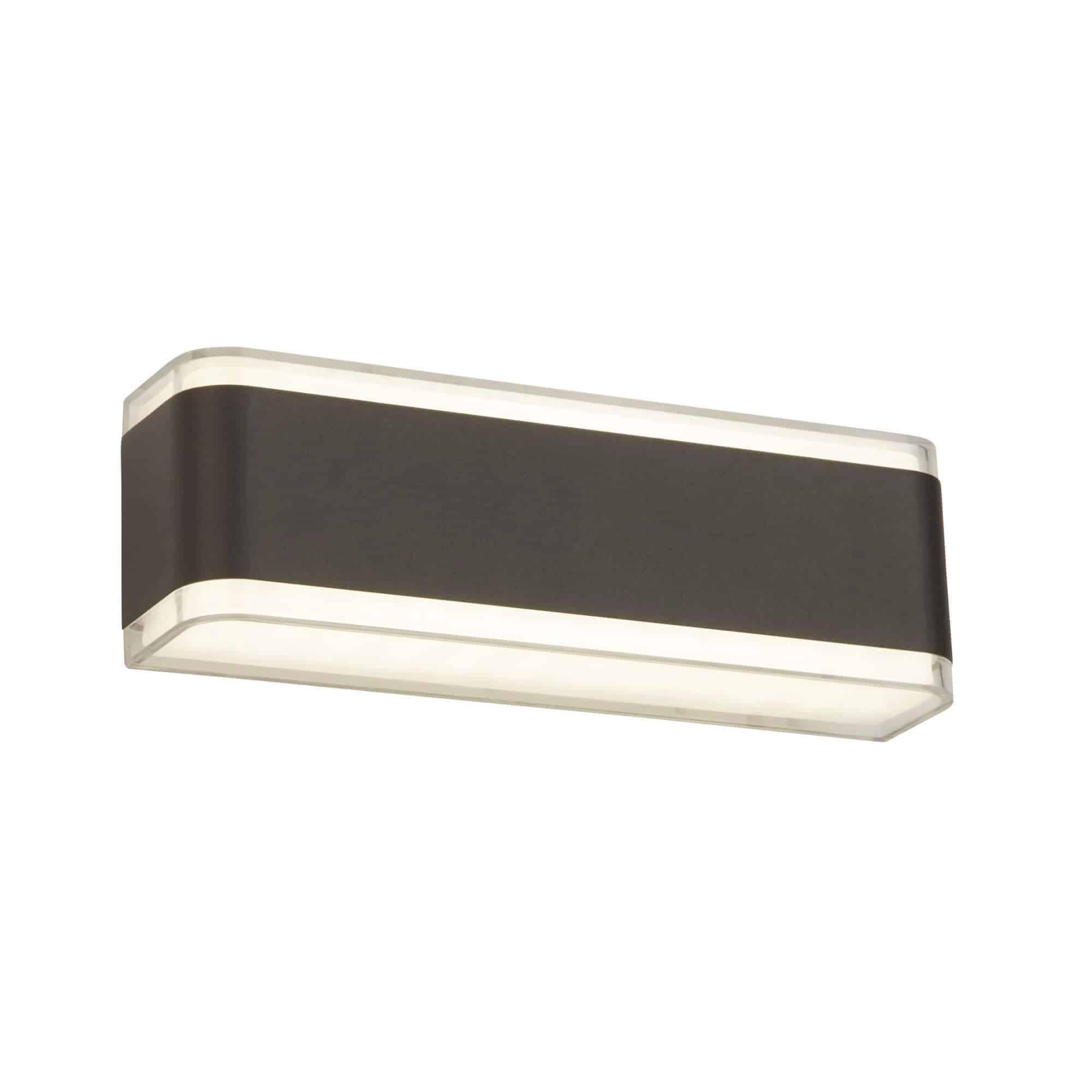 3671GY – Searchlight LED Dark Grey Outdoor Wall Light