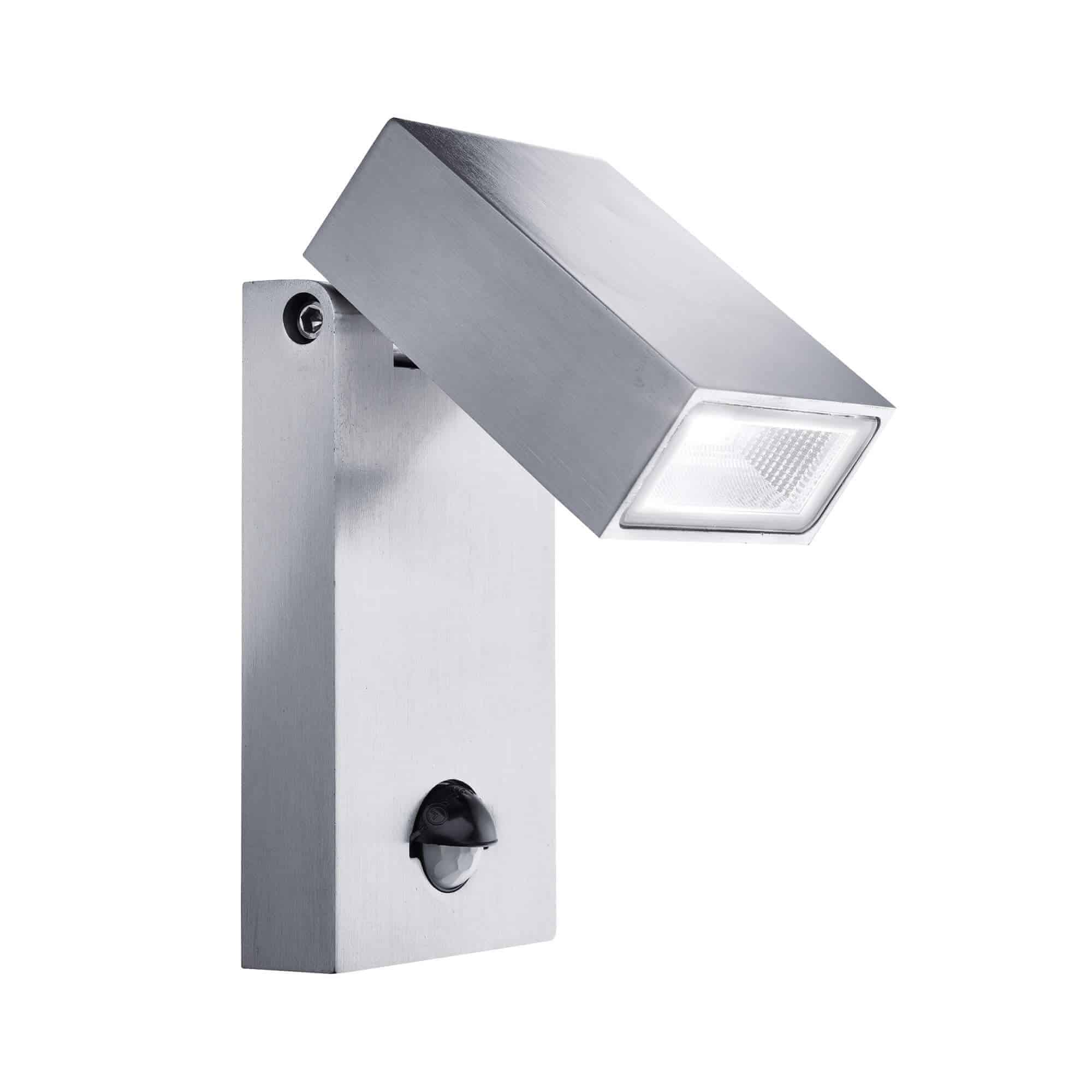7585 – Searchlight LED Outdoor Aluminium Wall Bracket with PIR Sensor