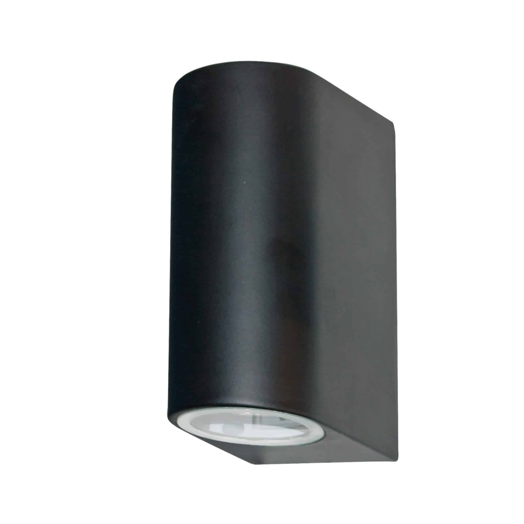 8008-2BK-LED – Searchlight LED Black Outdoor & Porch IP44 Wall Light 2 Light