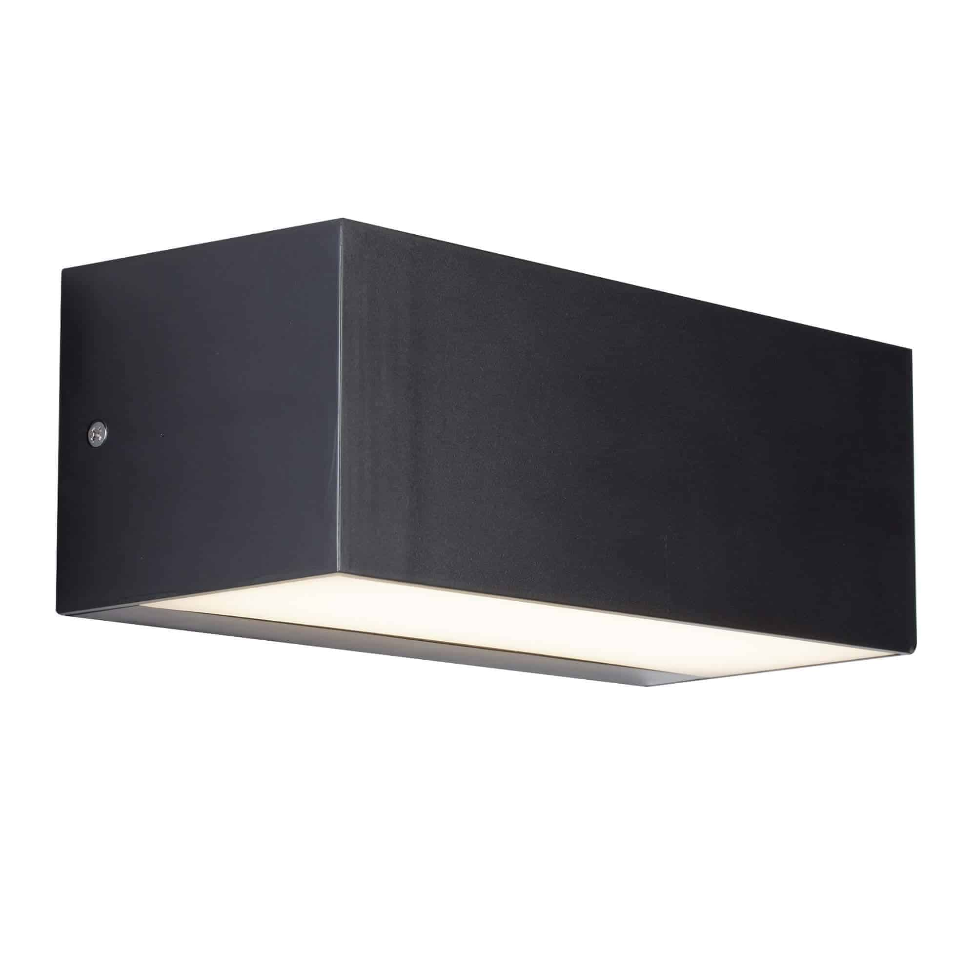 8735GY – Searchlight LED Dark Grey Outdoor Wall Light