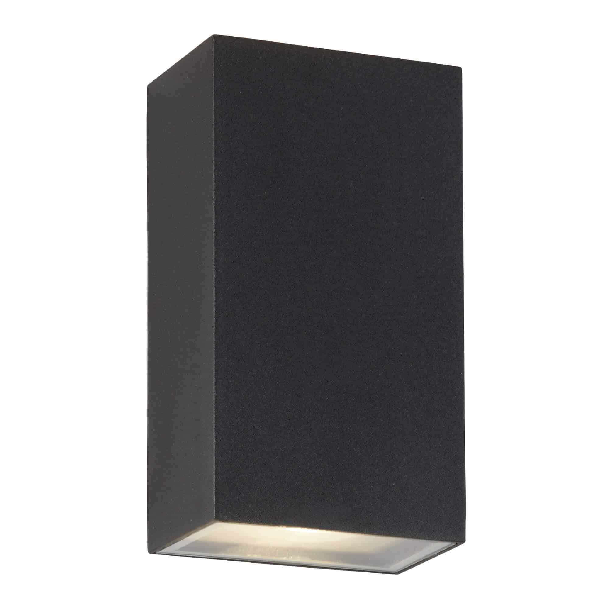 8852BK – Searchlight LED Black Outdoor Up/Down  Rectangle Wall Bracket