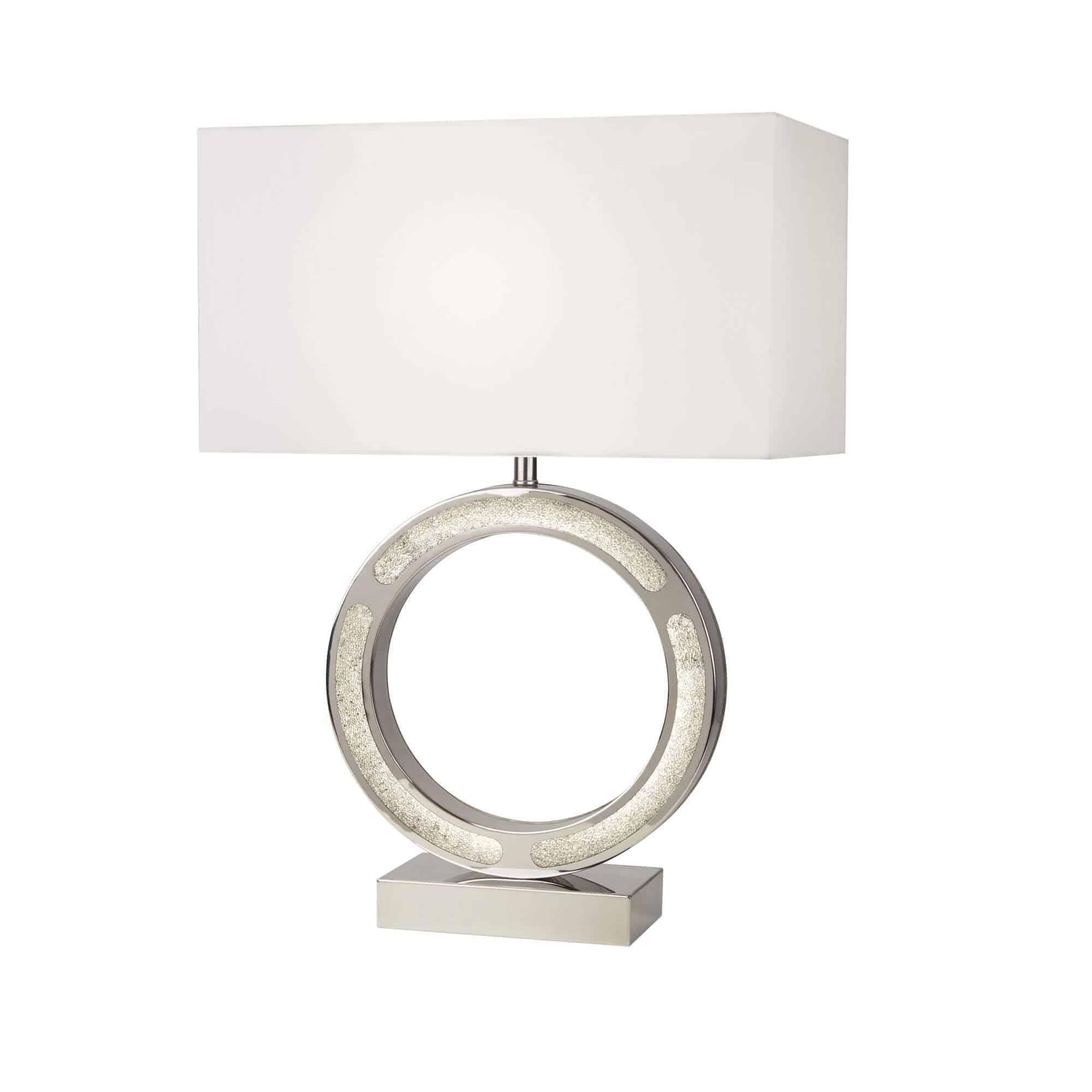 8971CC – Searchlight Alaska Table Lamp With LED Base