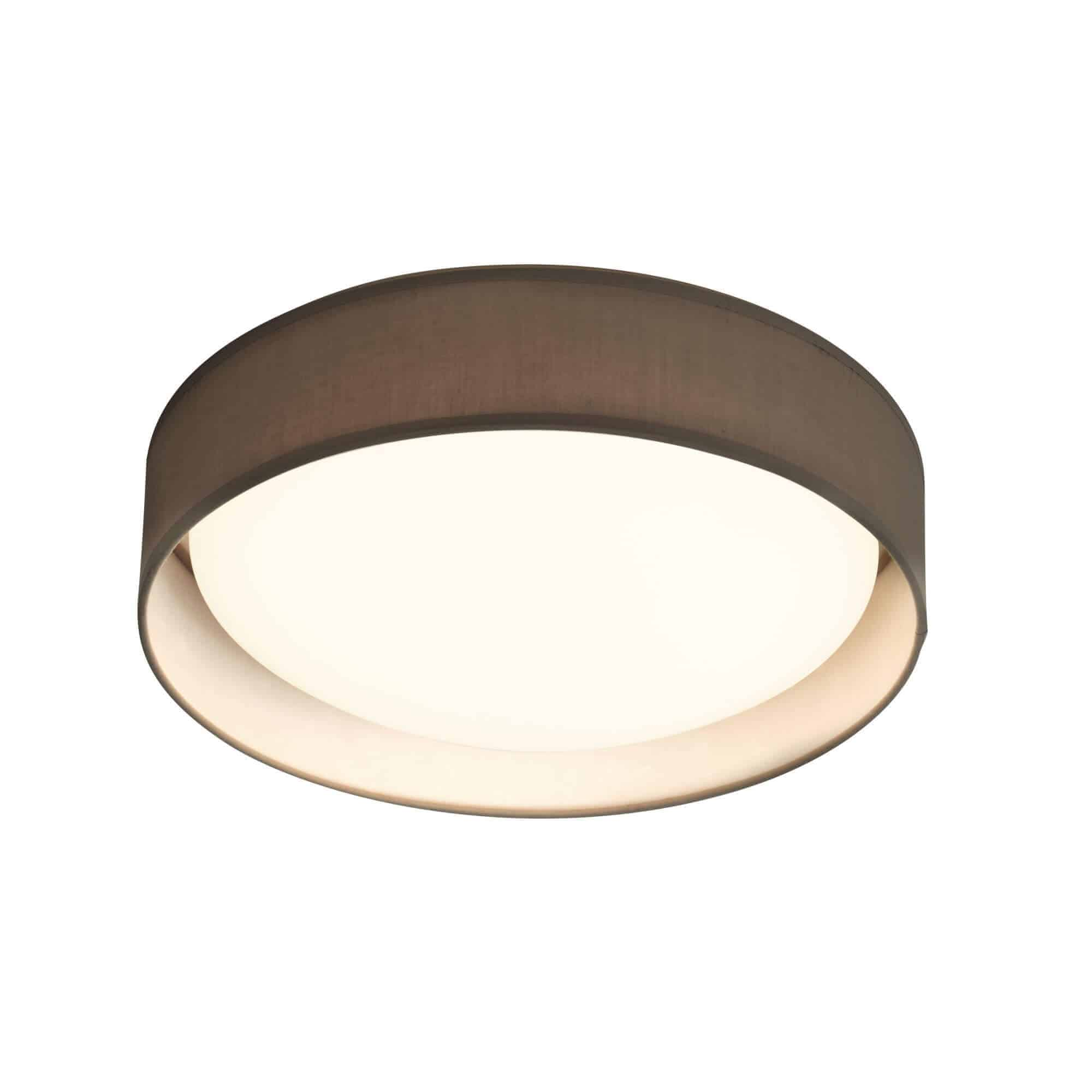 9371-50GY – Searchlight Gianna Grey 1 Light LED Flush Ceiling Light