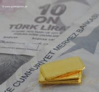 Gold, Türkische Lira
