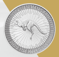 Silber, Silbermünze, Känguru