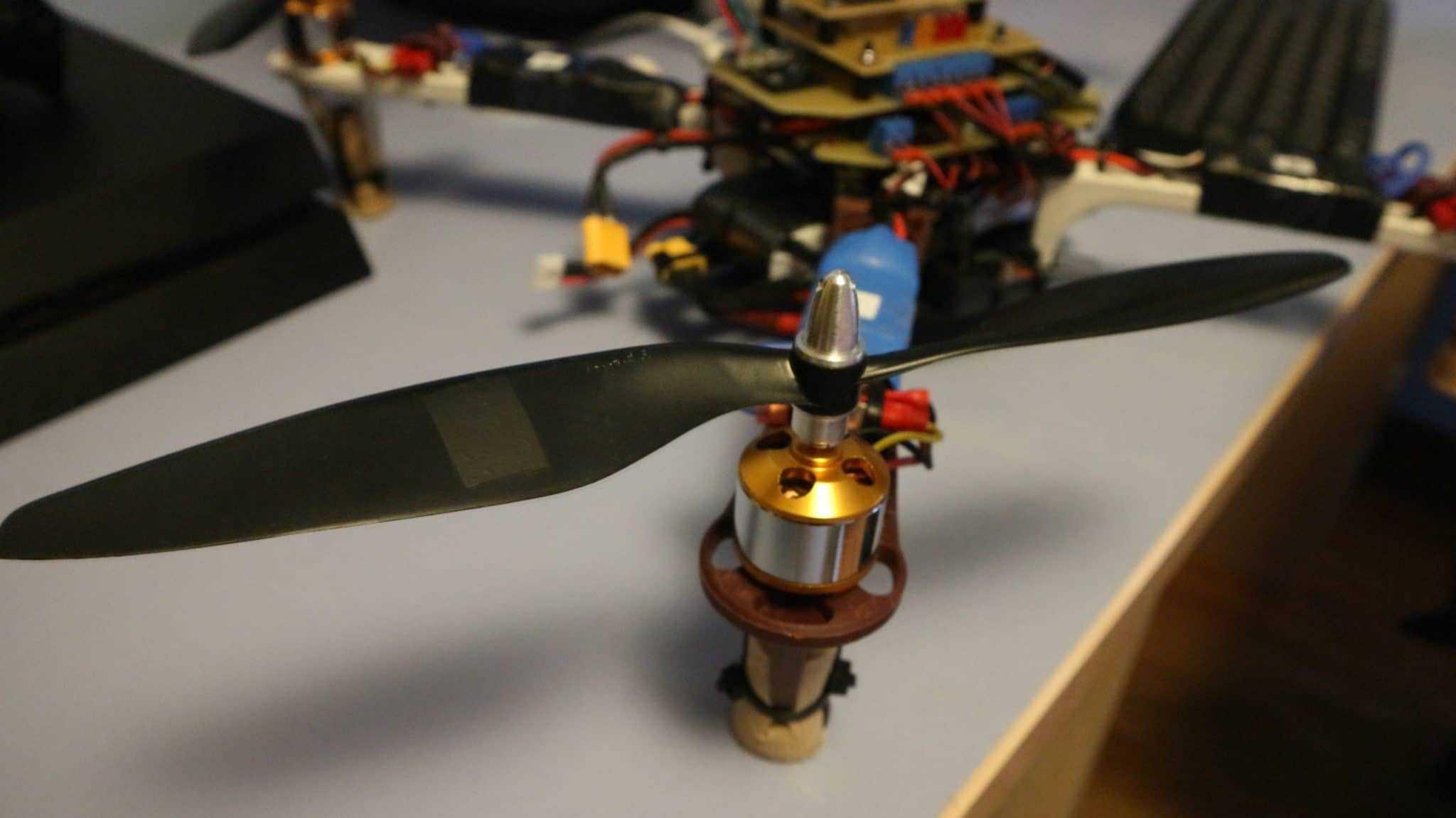 Calibración de hélice. Arduino drone.