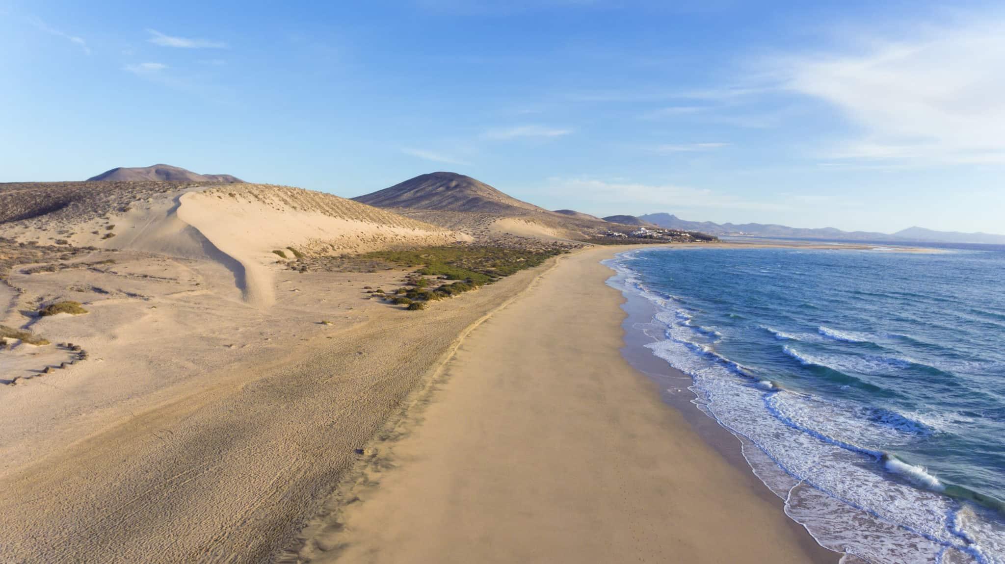 Traumstrand an der Costa Calma Fuerteventura