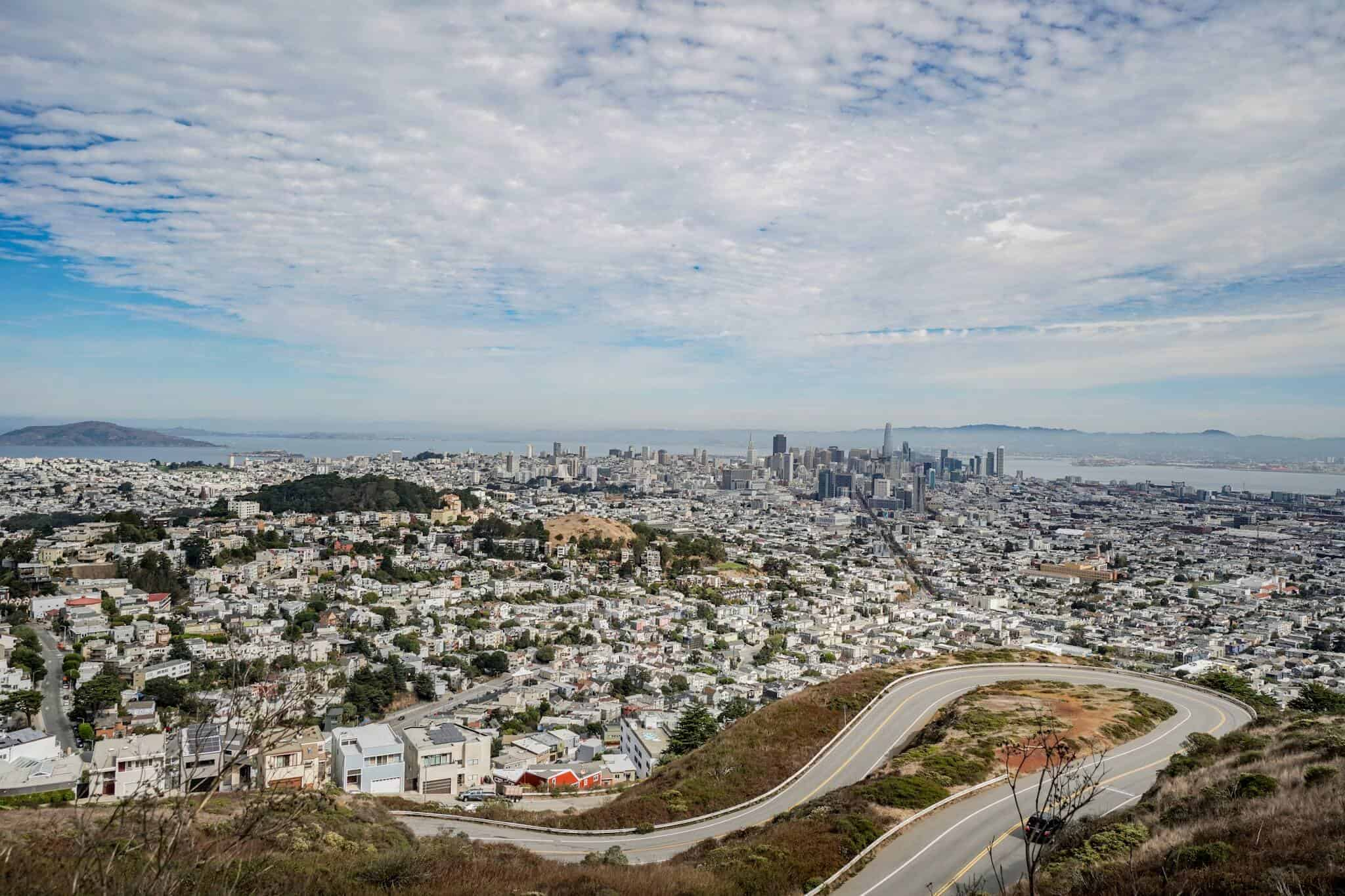 Ausblick Skyline San Francisco