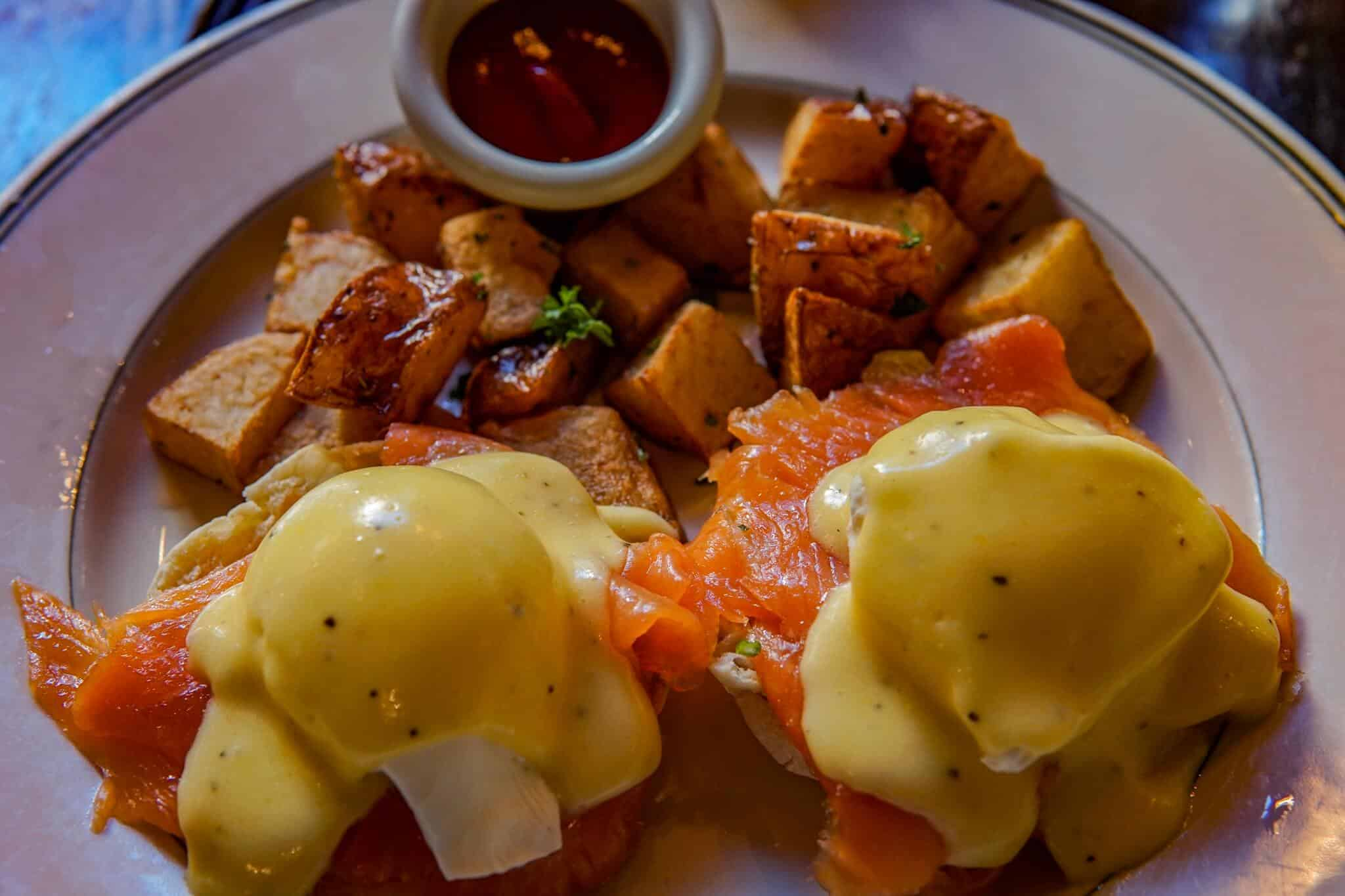 Eggs Benedict San Francisco