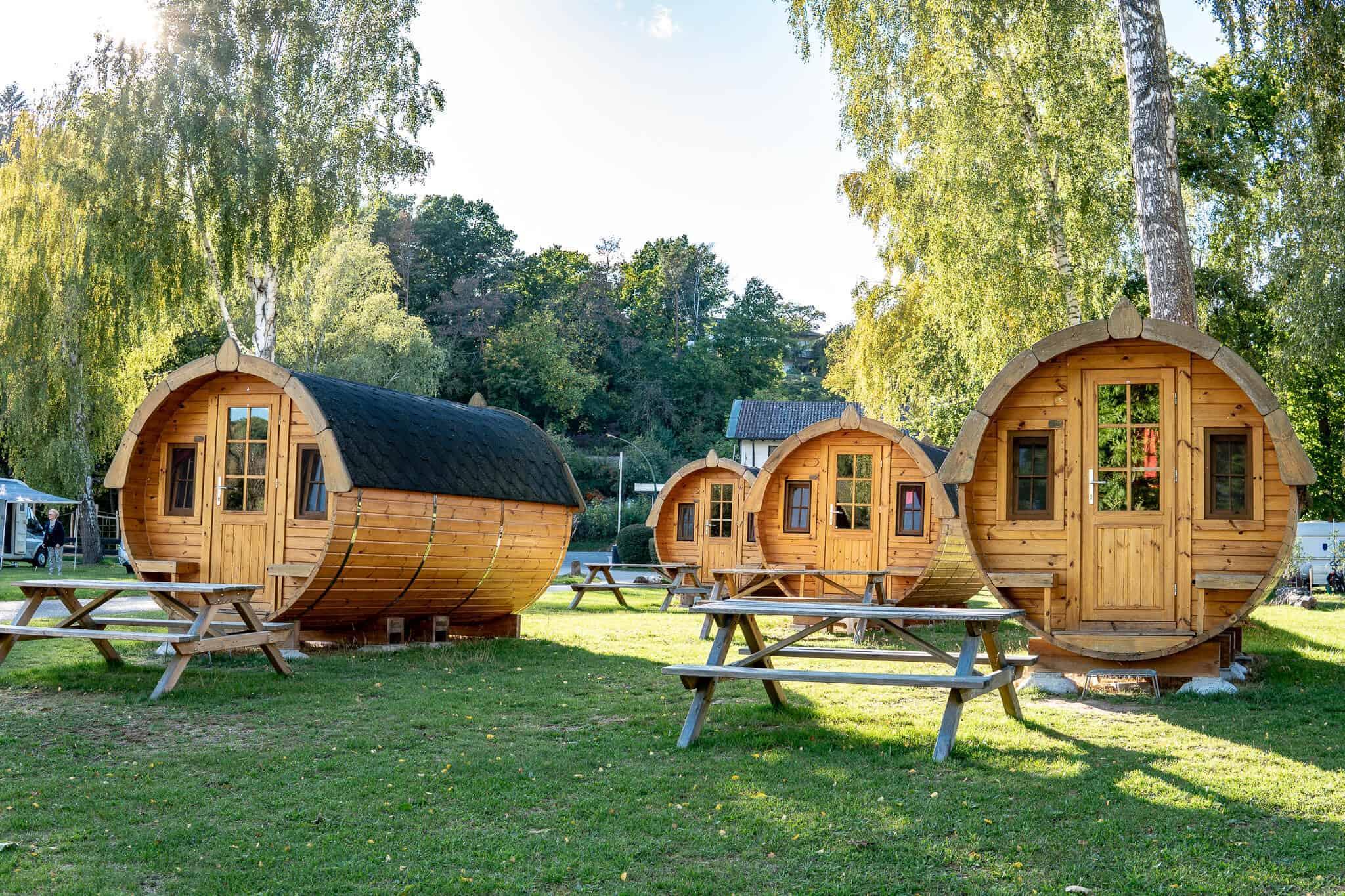 Weinfass Camping AZUR