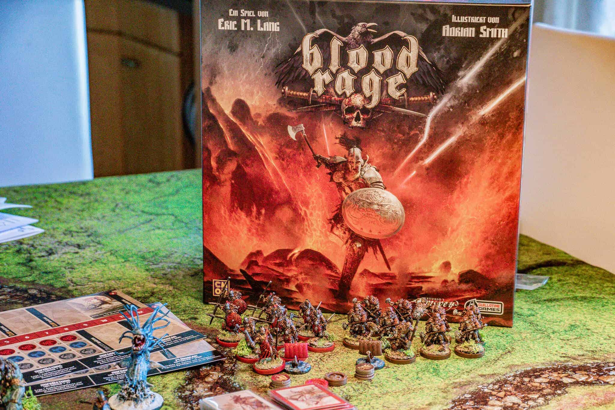Area Control Spiel Blood Rage