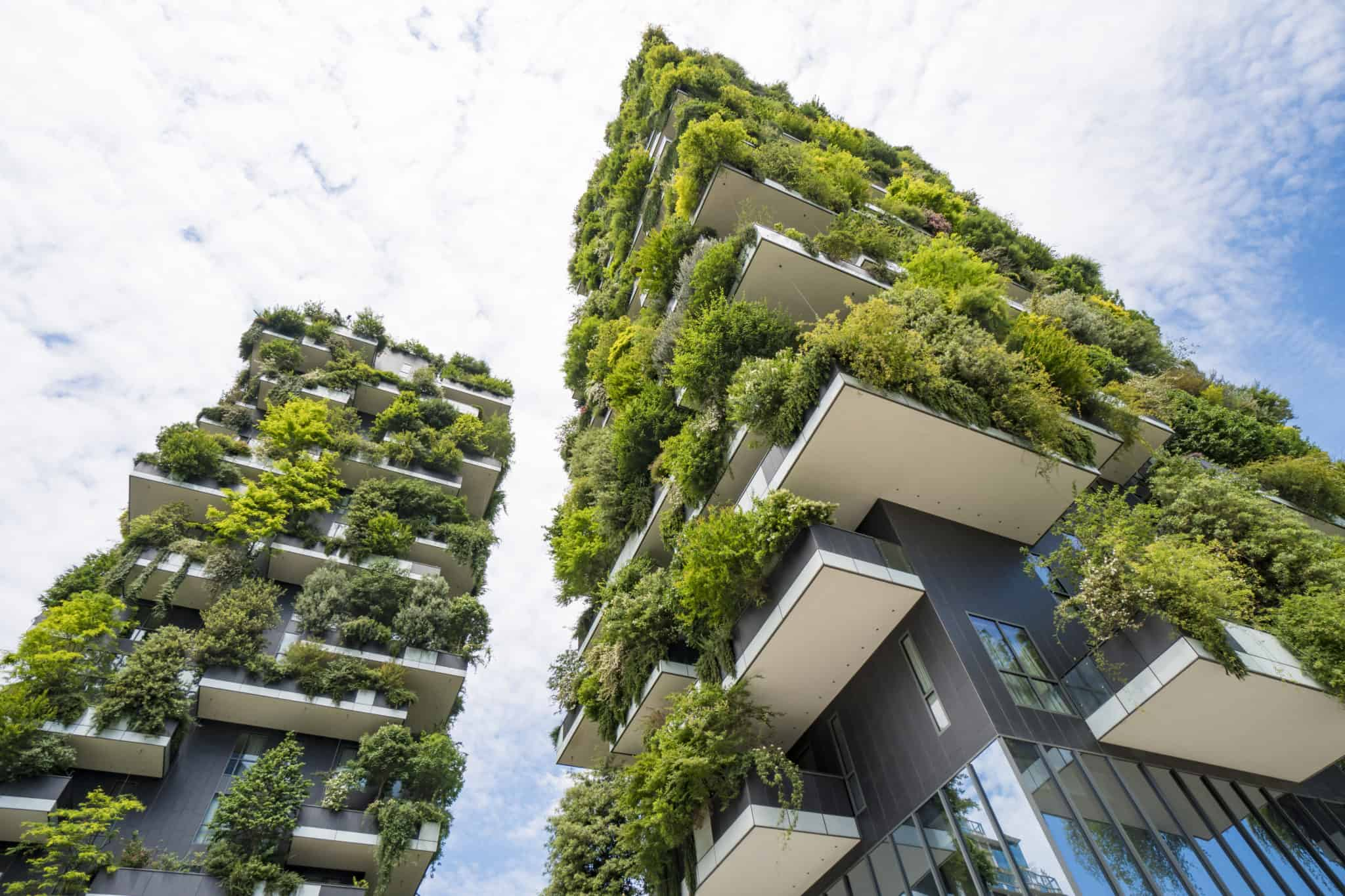 Die Bosco Vertical Hochhäuser in Mailand
