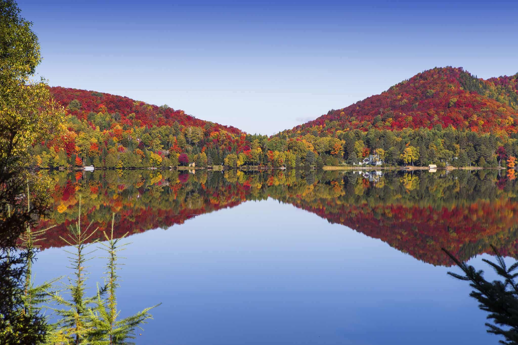 Indian Summer am Mont-Tremblant