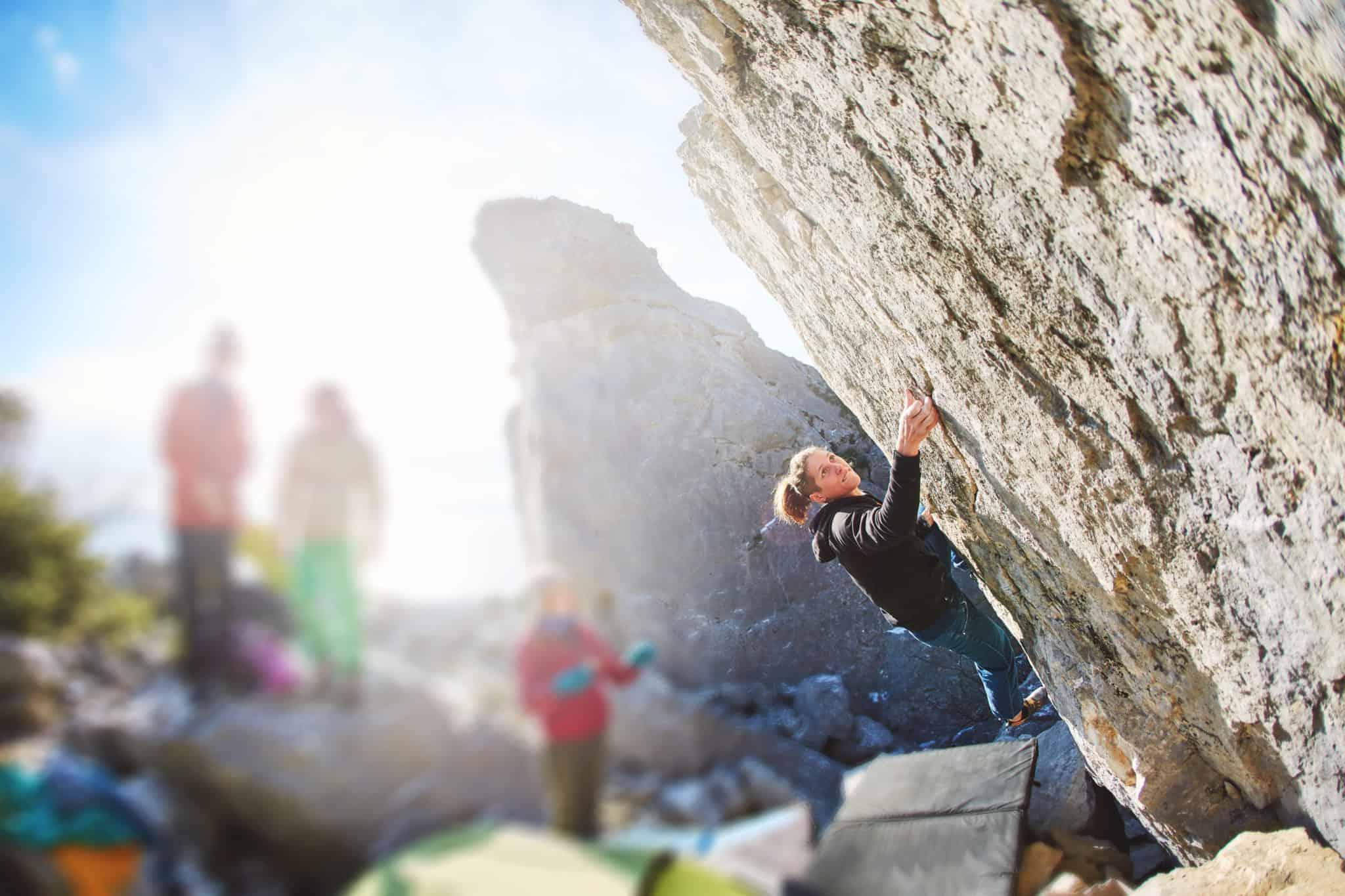Boulder und Kletter Session