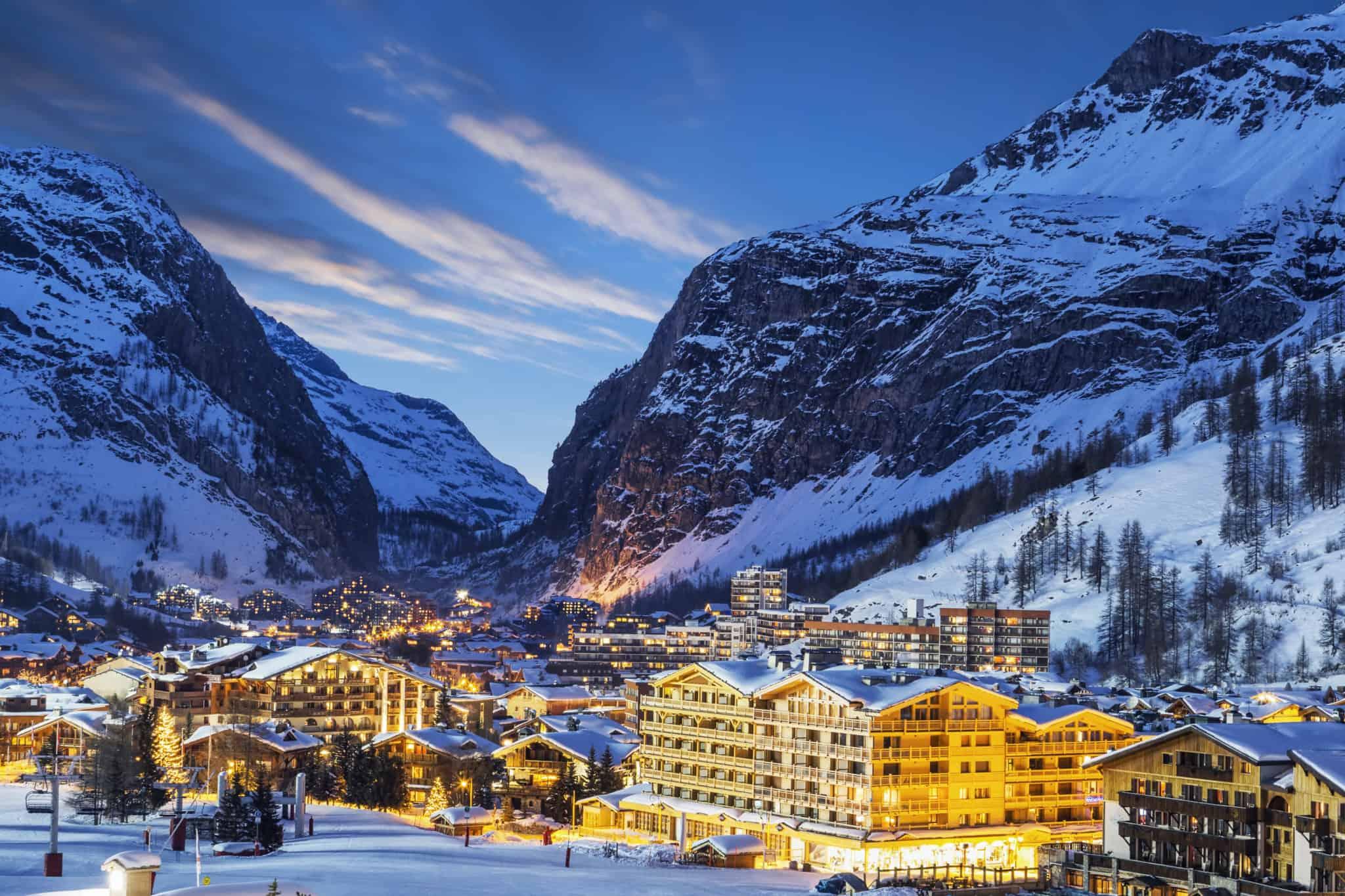 Skiurlaub in den Französischen Alpen