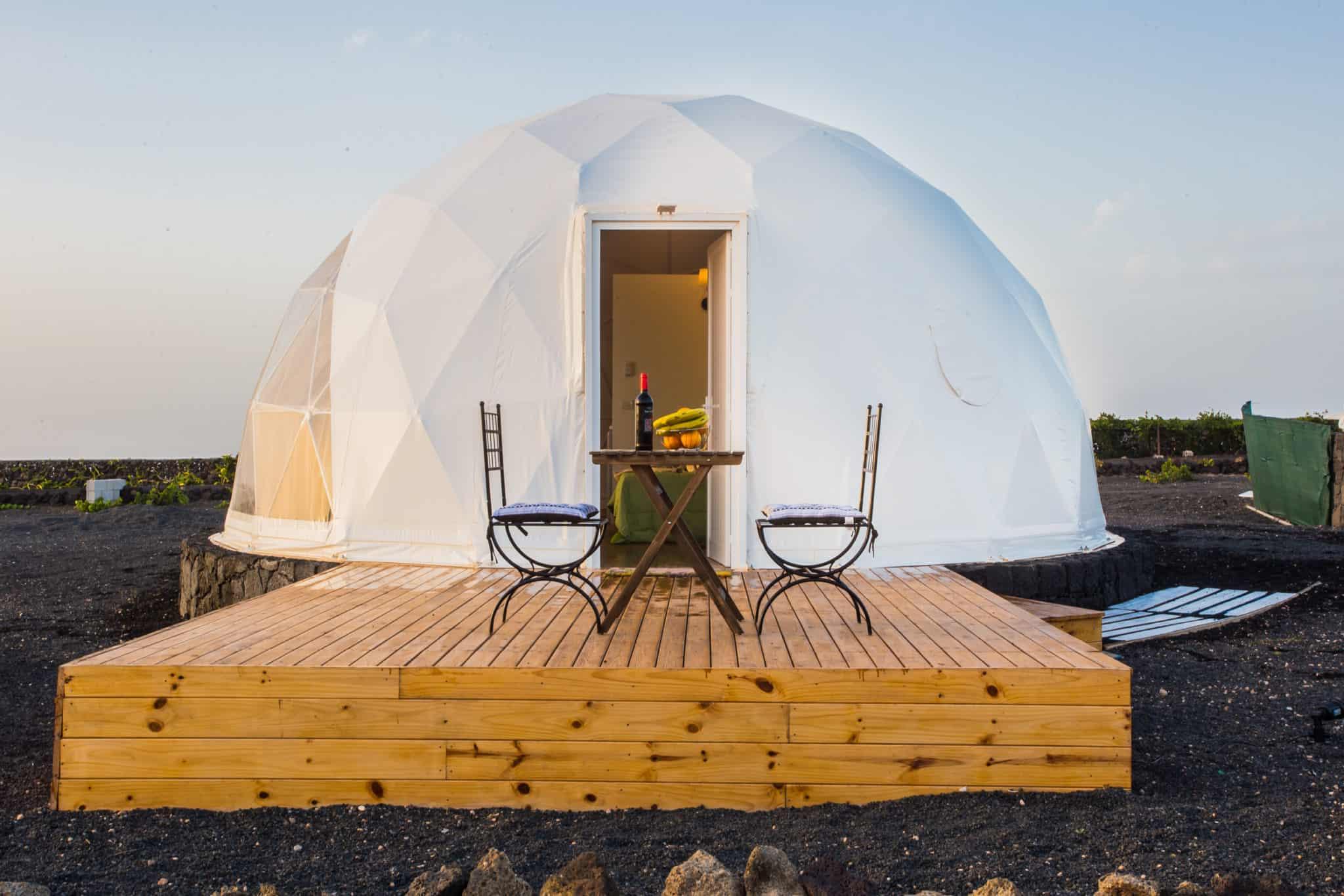 Eco Dome auf Lanzarote © canariasglamping.com