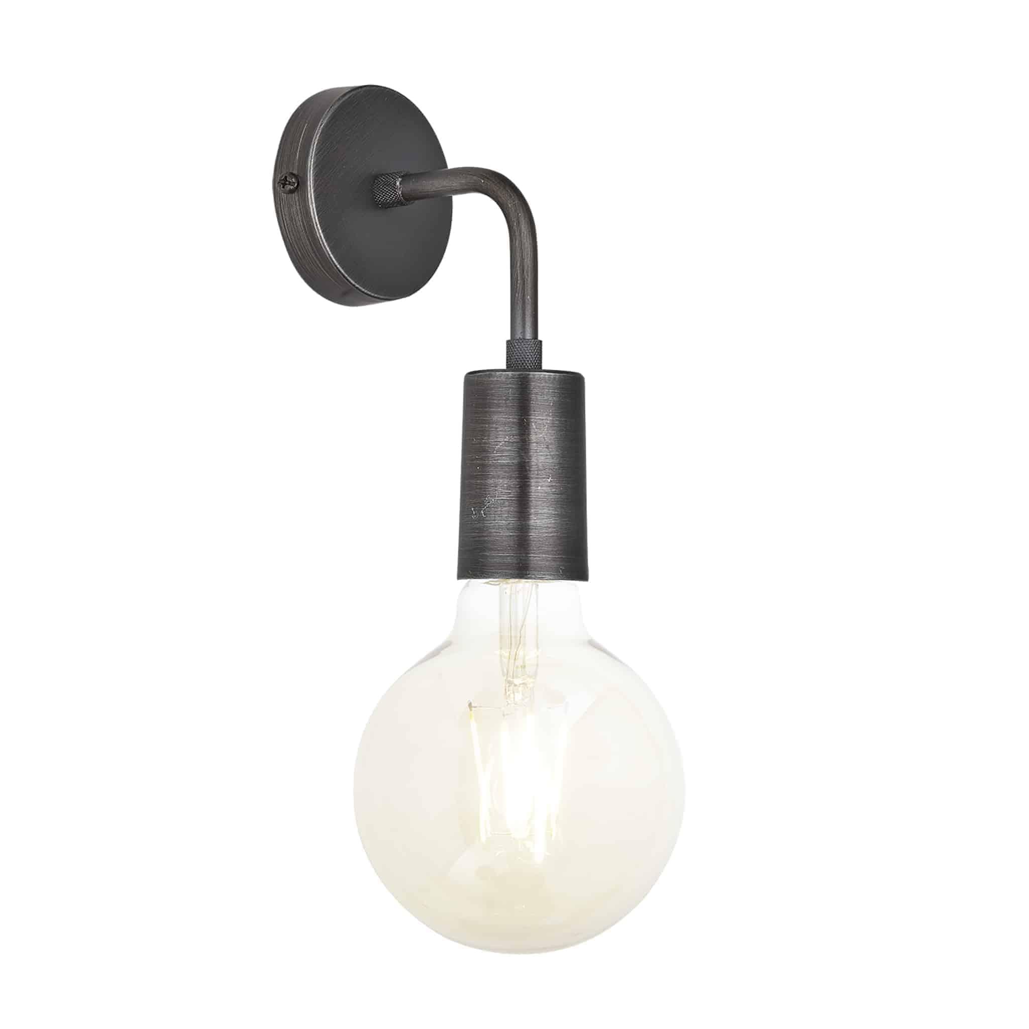 Industville SL-EWL-P Sleek Edison Wall Light