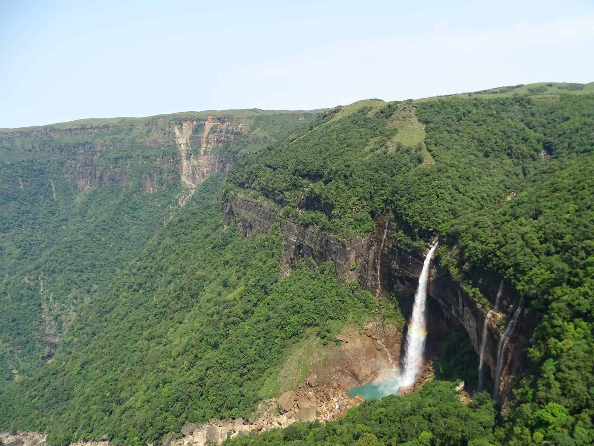 Nohkalikai Falls - Cherrapunjee