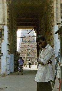 temple highlights in Trichy entrance at Sri Ranganathaswamy