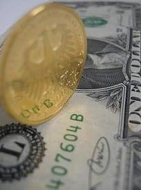 Euro, Gold, Dollar
