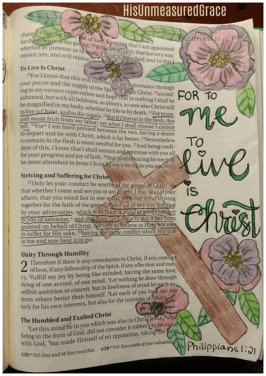 If you've ever wanted to try Bible art journaling, but didn't know where to start, here are some simple Bible journaling techniques to get started! #alittlerandr #bibleartjournaling #journalingtechniques #lettering
