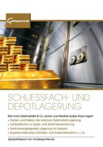 Schließfach, Depot, Goldlagerung