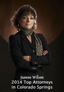Jeanne Wilson - 2014 Top Attorneys in Colorado Springs