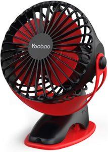 Yoobao Clip-On Stroller Fan