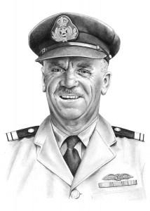 Pencil Portrait of Charles Pratt