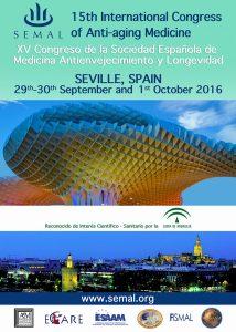 Carlos Udina y el Instituto Neurolife tienen el gusto de participar en el XV Congreso Internacional de la Sociedad Española de Medicina Antienvejecimiento y Longevidad, organizado por SEMAL.