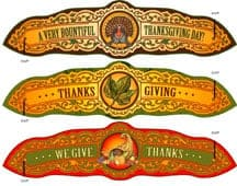Free Printable Thanksgiving Napkin Rings by The Toy Maker