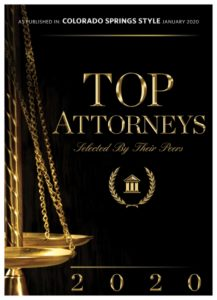2020 Top Attorneys Award