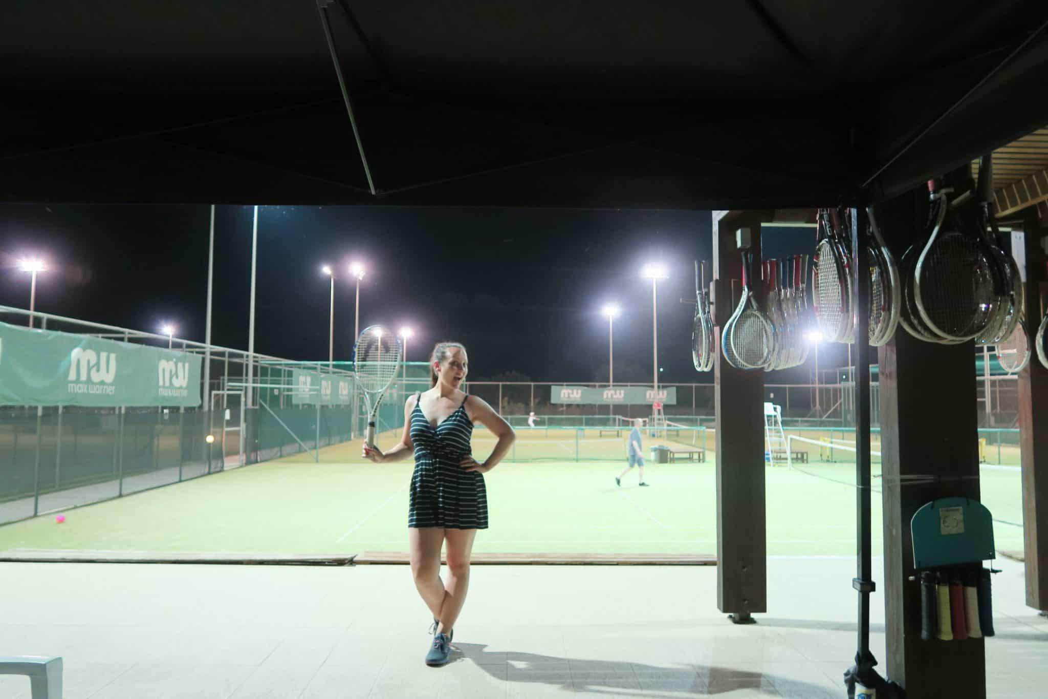 Tennis Courts at Mark Warner Levante Beach Resort