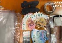 Cocaina dal Veneto orientale a Mestre: due arresti