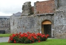 The entrance to Dungarvan Castle - The Irish Place