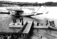 A Flying Boat at Foynes Airport - The Irish Place