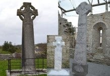 Three of the Kilfenora High Crosses - The Irish Place