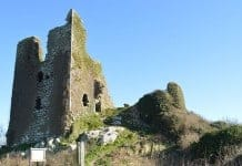 The ruins of Dunhill Castle - The Irish Place