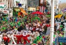 St Patrick's Day Parade in Dublin - The Irish Place