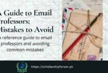 Photo of A Guide to Email Professors: Mistakes to Avoid